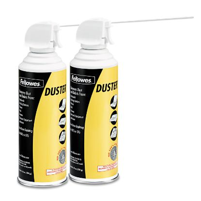 Picture of Air Duster, 152A Liquefied Gas, 10oz Can, Two Per Pack
