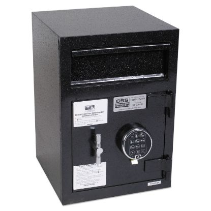 Picture of Depository Security Safe, 0.95 cu ft, 14 x 15.5 x 20, Black
