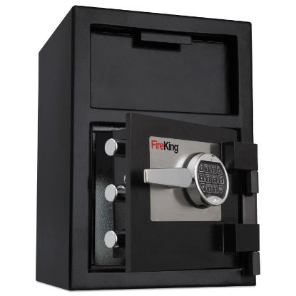 Picture of Depository Security Safe, 2.72 cu ft, 24w x 13.4d x 10.83h, Black