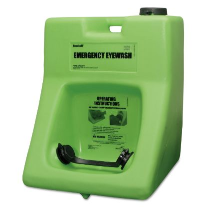 Picture of Fendall Porta Stream II Eye Wash Station with Eyesaline Concentrate, 16 gal