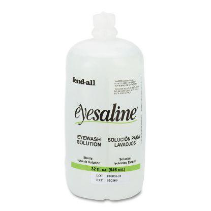 Picture of Fendall Eyesaline Eyewash Saline Solution Bottle Refill, 32 oz
