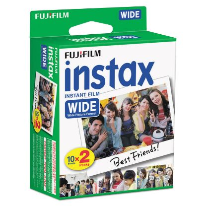 Picture of Instax Wide Film Twin Pack, 800 ASA, 20-Exposure Roll