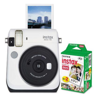 Picture of Instax Mini 70 Bundle, Auto Focus, White