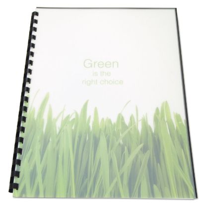 Picture of 100% Recycled Poly Binding Cover, 11 x 8 1/2, Frost, 25/Pack