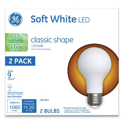 Picture of Classic LED Soft White Non-Dim A21, 10 W, 2/Pack