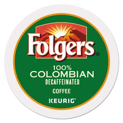 Picture of 100% Colombian Decaf Coffee K-Cups, 24/Box
