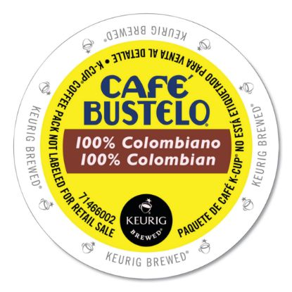 Picture of 100 percent Colombian K-Cups, 24/Box