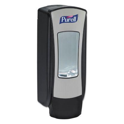 "Picture of ADX-12 Dispenser, 1200 mL, 4.5"" x 4"" x 11.25"", Chrome/Black"