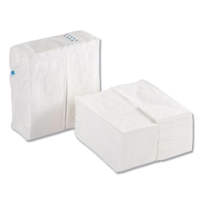 Picture of 1/8 Fold Dinner Napkins, 15 x 16, White, 100/Pack