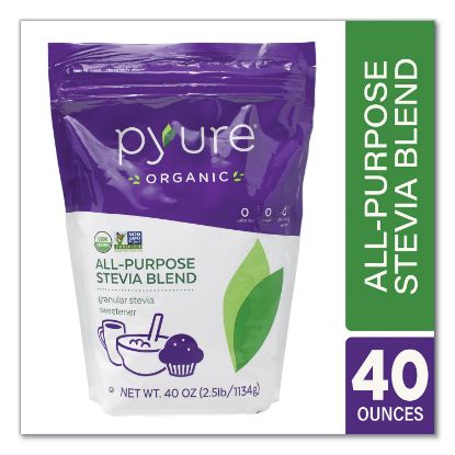 Picture of All-Purpose Granular Sweetener Blend, 40 oz Bag, Free Delivery in 1-4 Business Days