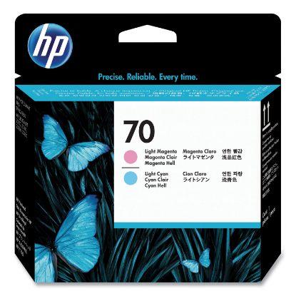 Picture of HP 70, (C9405A) Light Magenta/Light Cyan Printhead