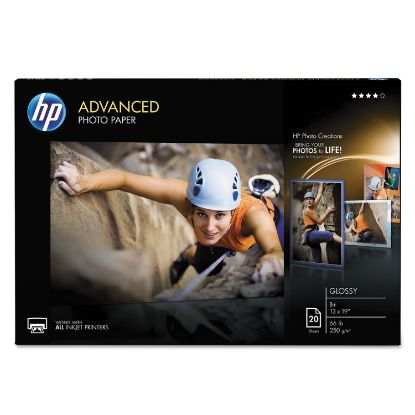 Picture of Advanced Photo Paper, 10.5 mil, 13 x 19, Glossy White, 20/Pack