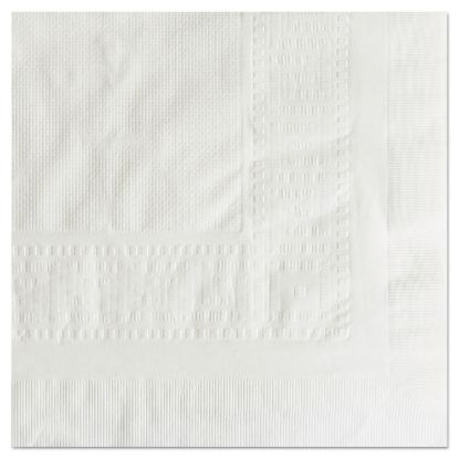 """Picture of Cellutex Tablecover, Tissue/Poly Lined, 54 in x 108"""", White, 25/Carton"""