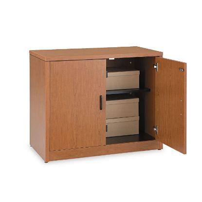Picture of 10500 Series Storage Cabinet w/Doors, 36w x 20d x 29-1/2h, Bourbon Cherry