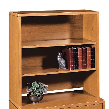 Picture of 10500 Series Bookcase Hutch, 36w x 14.63d x 37.13h, Bourbon Cherry