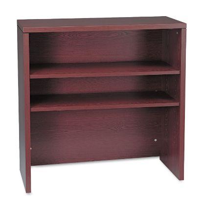 Picture of 10500 Series Bookcase Hutch, 36w x 14.63d x 37.13h, Mahogany