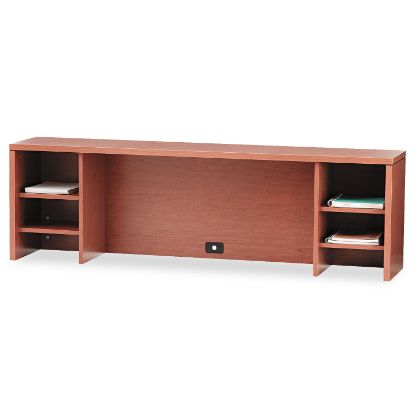 Picture of 10500 Series Stack-On PC Organizer, 72w x 14.63d x 22h, Bourbon Cherry