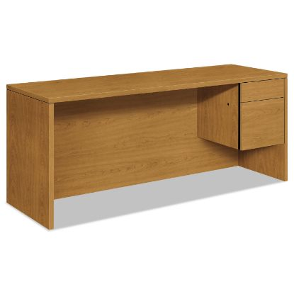 Picture of 10500 Series 3/4-Height Right Pedestal Credenza, 72w x 24d x 29.5h, Harvest