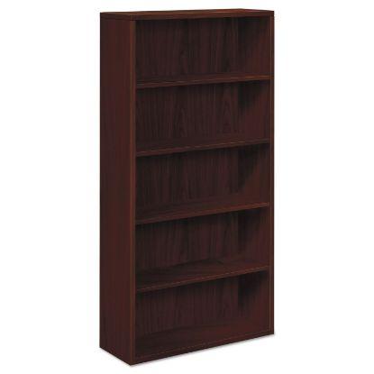 Picture of 10500 Series Laminate Bookcase, Five-Shelf, 36w x 13-1/8d x 71h, Mahogany
