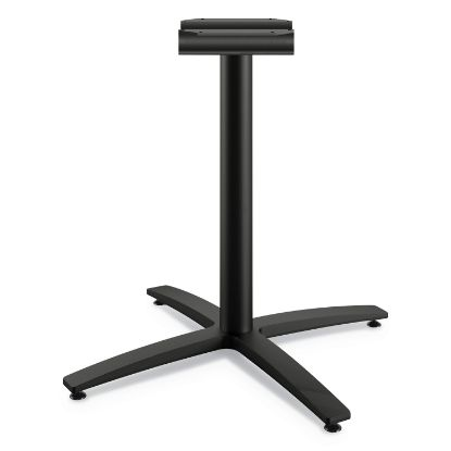 """Picture of Between Seated-Height X-Base for 30""""-36"""" Table Tops, Black"""
