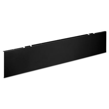 Picture of Huddle Series Multipurpose Table Modesty Panel, 44.5w x 0.13d x 9.63h, Black