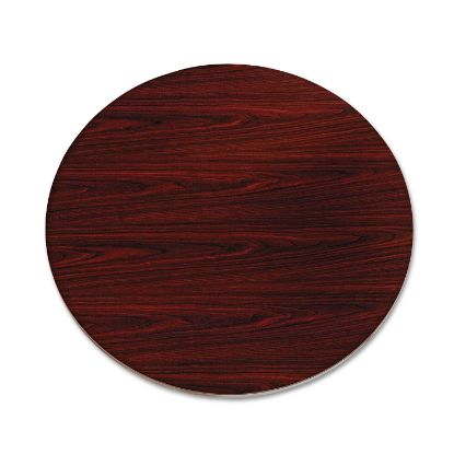 """Picture of 10500 Series Round Table Top, 42"""" Diameter, Mahogany"""
