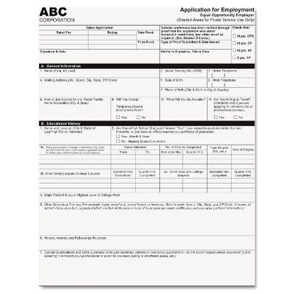 Picture of Digital Carbonless Paper, 1-Part, 8.5 x 11, White, 2, 500/Carton