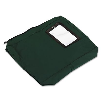 Picture of Expandable Dark Green Transit Sack, 14w x 11h x 3d