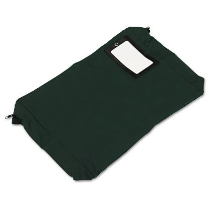Picture of Expandable Dark Green Transit Sack, 18w x 4d x 14h