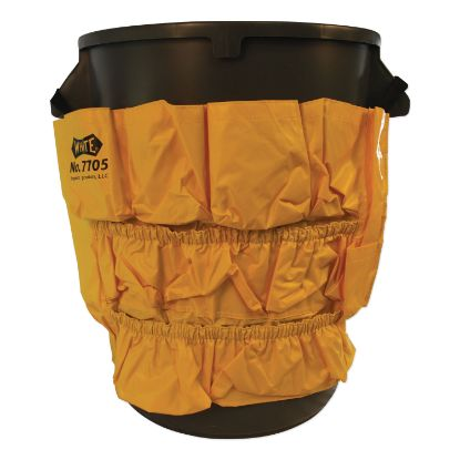 Picture of Gator Caddy Vinyl Yellow Bag, 9 Pockets, 20w x 20.5h, Yellow