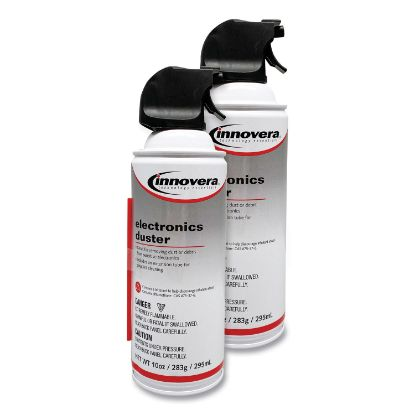 Picture of Compressed Air Duster Cleaner, 10 oz Can, 2/Pack