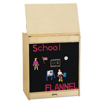 Picture of Big Book Easels, 24.5w x 15d x 20h, Flannel
