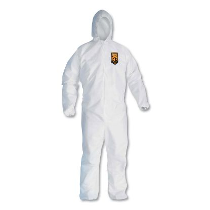 Picture of A20 Breathable Particle Protection Coveralls, Zip Closure, 3X-Large, White