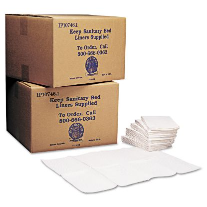 Picture of Baby Changing Station Sanitary Bed Liners, 13 x 19, White, 500/Carton
