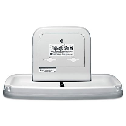 Picture of Horizontal Baby Changing Station, 35.19 x 22.25, Cream