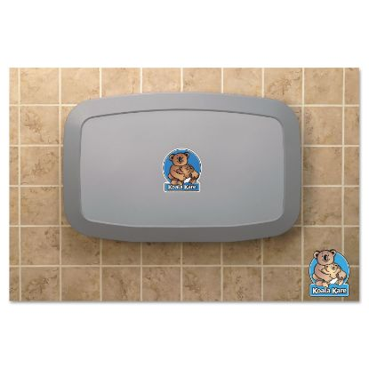 Picture of Horizontal Baby Changing Station, 35 x 22, Gray