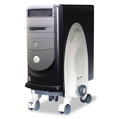 Picture of Deluxe Mobile CPU Stand, 12w x 12d x 18h, Gray