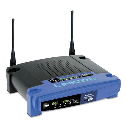 Picture of 4-Port N Wireless Router, 4 Ports, 2.4GHz