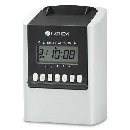 Picture of 700E Calculating Time Clock, White