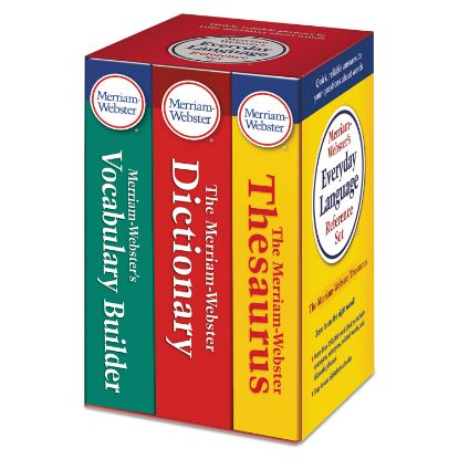Picture of Everyday Language Reference Set, Dictionary, Thesaurus, Vocabulary Builder