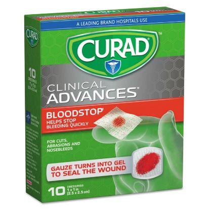 Picture of Bloodstop Sterile Hemostat Gauze Pad, 1 x 1, 10/Box