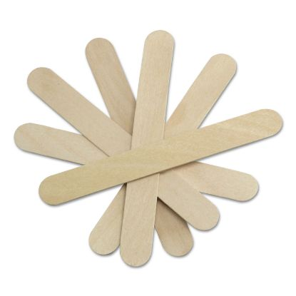 """Picture of Sterile Tongue Depressors, Wood, 6"""" Long, 100/Box"""