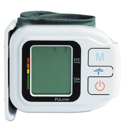 Picture of Automatic Digital Wrist Blood Pressure Monitor, One Size Fits All