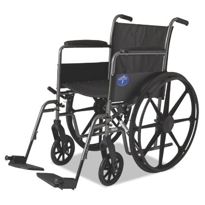 Picture of Excel K1 Basic Wheelchair, 18w x 16d, 300 lb Capacity