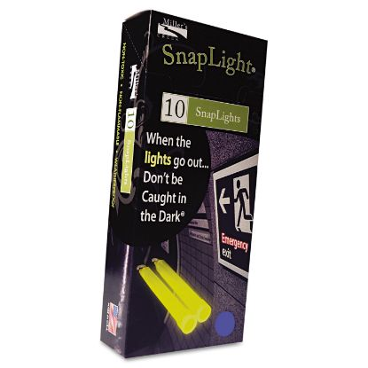 """Picture of Snaplights, 6""""l x 3/4""""w, Blue, 10/Box"""