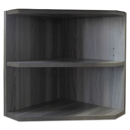 Picture of Medina Series Laminate Hutch Support, 15w x 15d x 20h, Gray Steel