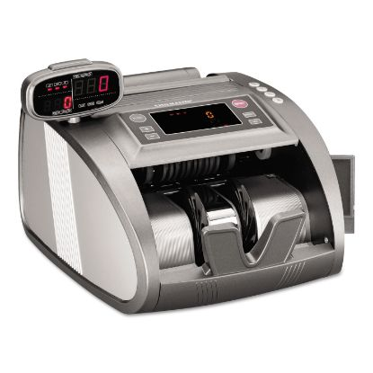 Picture of 4820 Bill Counter with Counterfeit Detection, 1200 Bills/Min, Charcoal Gray