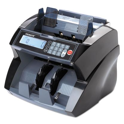 Picture of 4850 Bill Counter with Counterfeit Detection, 1900 Bills/Min, Black