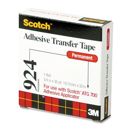 """Picture of Adhesive Transfer Tape Roll, 3/4"""" Wide x 36yds"""