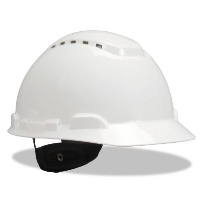 Picture of H-700 Series Hard Hat with Four Point Ratchet Suspension, Vented, White